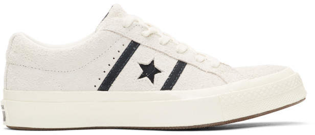 Converse Off-White Suede One Star Academy Sneakers