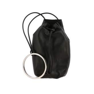 Jil Sander Handbag In Smooth Leather With Metal Ring