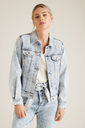 Seed Heritage Oversized Sleeve Denim Jacket