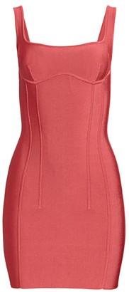 Herve Leger Bustier Mini Dress