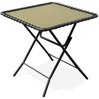 BEIGE Folding Plastic/Resin Side Table Caravan Canopy Color