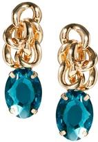 Asos Chain Gem Earrings