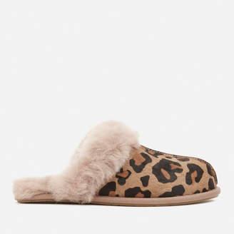 UGG Women's Scuffette II Leopard Slippers