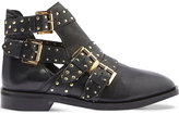 Topshop Ark buckled leather boots
