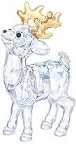Swarovski Crystal Santa's Reindeer Figurine