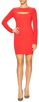BCBGMAXAZRIA Fyona Ribbed Sheath Dress