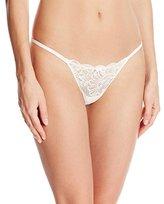 Le Mystere Women's Sophia Lace Thong Panty