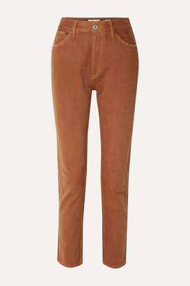 RE/DONE 50s Cigarette High-rise Straight-leg Jeans - Tan