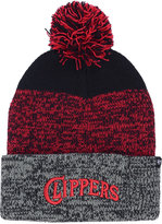 '47 Los Angeles Clippers Black Static Pom Knit Hat