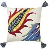 Williams-Sonoma Williams Sonoma Iznik Printed Silk Pillow Cover, Red