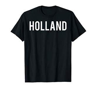 Holland T Shirt - Cool new funny name fan cheap gift tee