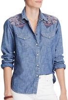 Denim & Supply Ralph Lauren Applique Western Shirt