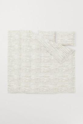 H&M Batik-print Duvet Cover Set