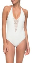 Roxy Women's Surf Bride One-Piece Swimsuit