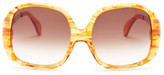 Wildfox Couture Women's Liz Oversized Plastic Frame Sunglasses