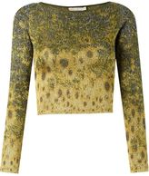 Cecilia Prado degrade cropped knit blouse