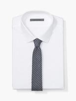 John Varvatos Striped Skinny Tie