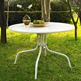 Bed Bath & Beyond Griffith Metal 39-Inch Dining Table in White