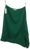 Cédric Charlier Green Cotton - elasthane Skirt for Women