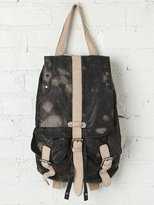 Free People Downtown Leather Backpack