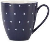 Kate Spade Larabee Dot Navy Collection Stoneware Mug