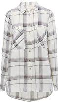 M&Co Grey check shirt
