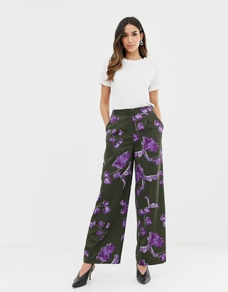 Y.A.S Floral High Waisted PANTS