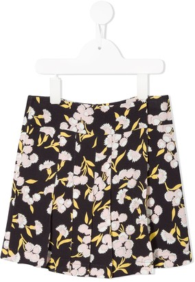 Marni flower print skirt