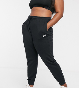 Nike plus black essentials joggers