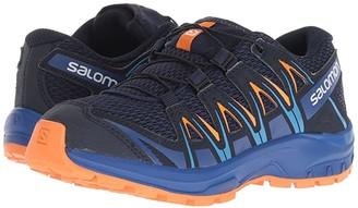 Salomon Xa Pro 3D (Little Kid/Big Kid) (Medieval Blue/Mazarine Blue Wil/Tangelo) Boys Shoes