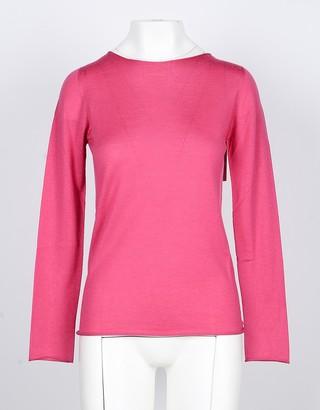 Lamberto Losani Pink Cashmere and Silk Women's Sweater