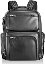 Tumi Men's 'Arrive - Bradley' Calfskin Leather Backpack - Black