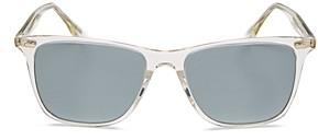Oliver Peoples Men's Ollis Polarized Square Sunglasses, 54mm