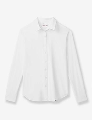 Tommy John Women's Go Anywhere Button Down Shirt