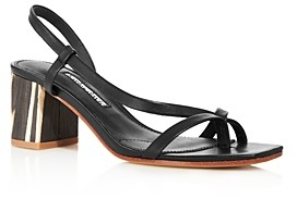 Charles David Women's Clay Strappy Mid-Heel Sandals