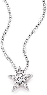 Hearts On Fire Women's Illa Diamond & 18K White Gold Cluster Pendant Necklace