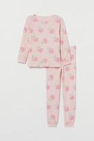 H&M Jersey Pajamas - Pink