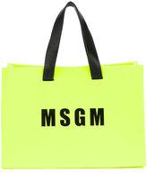 MSGM mini logo shopper