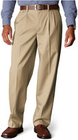 Dockers Signature Khaki Relaxed Fit Pleated Pants, Limited Quantities