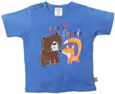 Zutano Forest Friends Tee (Baby) - Periwinkle-6 Months