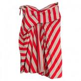 Vivienne Westwood Red Cotton Skirts