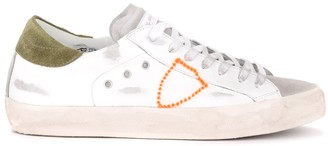 Philippe Model Paris Model Sneaker Made Of White Leather And Suede