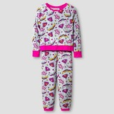 Girls DC Super Heroes Pajama Set - Multi-Colored