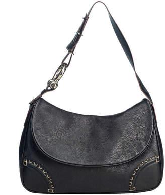 Burberry Brown Leather Shoulder Bag
