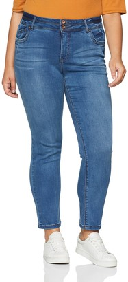 Simply Be Women's Shape&Sculpt Straigh Skinny Jeans