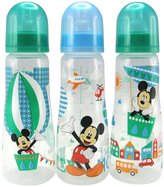 The First Years Slim Bottles - Mickey - 8 oz - 3 ct