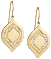 Jamie Wolf Large Interior Pave Aladdin Earrings with Diamonds