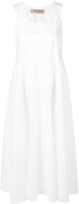 Blanca Vita Flared Sleeveless Dress