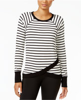Tommy Hilfiger Striped Crossover Top, A Macy's Exclusive Style