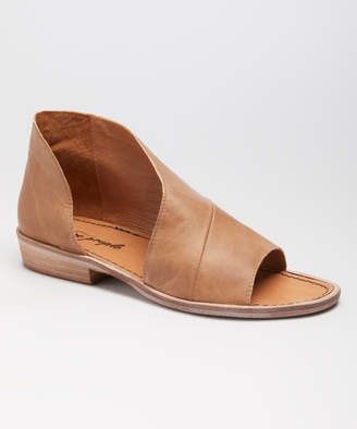Free People Women's Sandals BROWN - Brown Mont Blanc Leather Sandal - Women